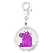 Purple Hippo Charms