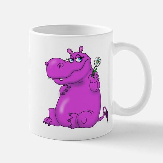 Purple Hippo Mugs