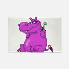 Purple Hippo Magnets