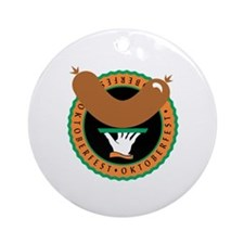 Oktoberfest Celebration Ornament (Round)