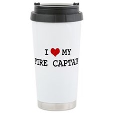 Cute I love firefighting Travel Mug