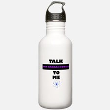 Talk Amy Farrah Fowler to Me Water Bottle