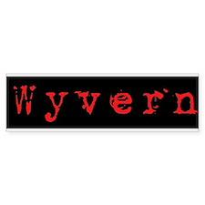 Wyvern Bumper Bumper Sticker