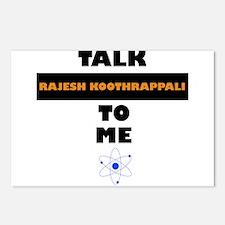 Talk Rajesh Koothrappali to Me Postcards (Package