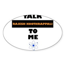 Talk Rajesh Koothrappali to Me Decal