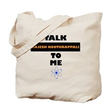 Talk Rajesh Koothrappali to Me Tote Bag