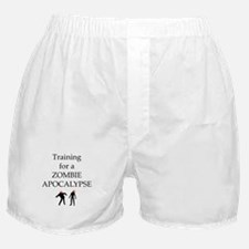 Training for Zombie Boxer Shorts