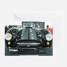 Black car Greeting Card
