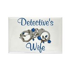 Detective's Wife Rectangle Magnet