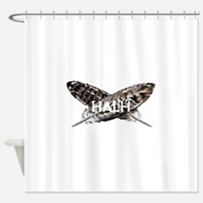 Funny Hawkings Shower Curtain