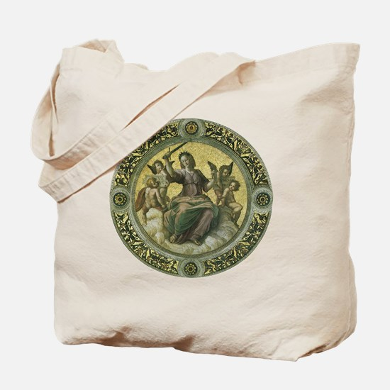 Justice by Raphael Tote Bag