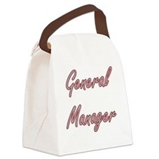 General Manager Artistic Job Desi Canvas Lunch Bag