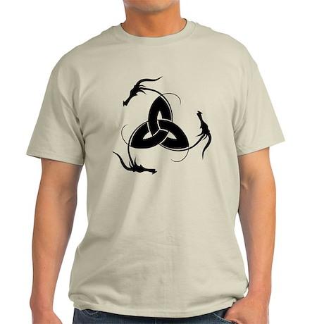 Dragon Triquetra Light T-Shirt