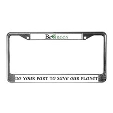 BeGreen License Plate Frame