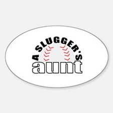 Baseball aunt Decal