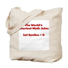 Cute Epsilon math Tote Bag