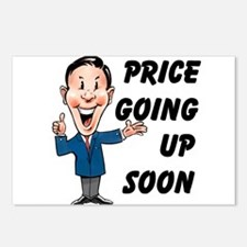 PRICE GOING UP Postcards (Package of 8)