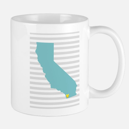 I Love San Diego Mugs