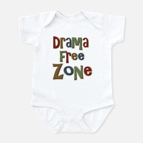 Funny Drama Free Zone Infant Bodysuit
