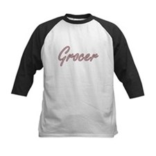 Grocer Artistic Job Design Baseball Jersey