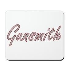 Gunsmith Artistic Job Design Mousepad