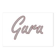 Guru Artistic Job Design Postcards (Package of 8)