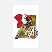 The Avengers Black Widow Flyin Decal