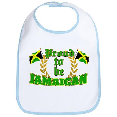 Proud to be Jamaican Bib