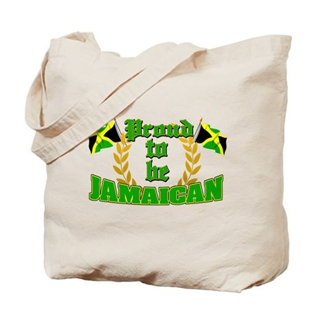 Proud to be Jamaican Tote Bag
