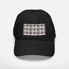 Sugar Skull Pattern Roses Baseball Hat