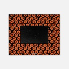 Halloween Pumpkin Pattern Picture Frame