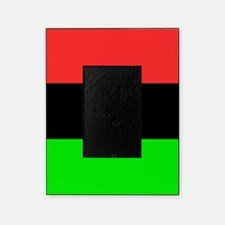 Square African American Flag Picture Frame