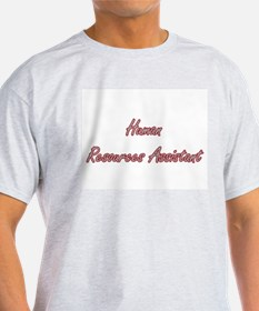 Human Resources Assistant Artistic Job Des T-Shirt