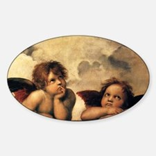 Sistine Madonna Angels by Raphael Decal