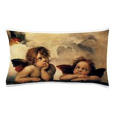 Sistine Madonna Angels by Raphael Pillow Case