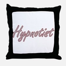 Hypnotist Artistic Job Design Throw Pillow
