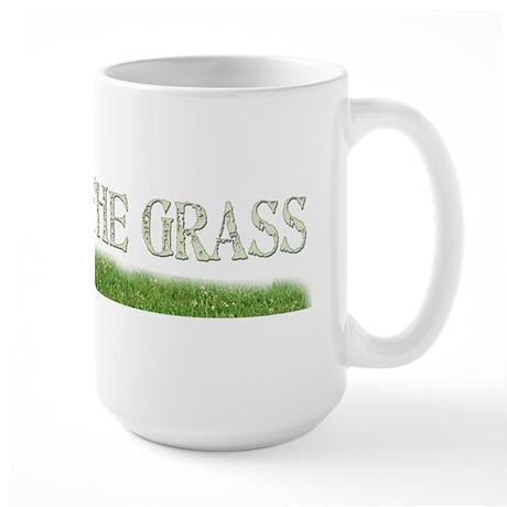 Keep Off The Grass Large Mug