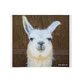 Llama Fleece Blankets