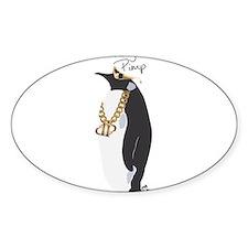 Penguin Pimp Decal