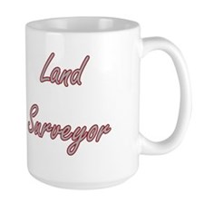 Land Surveyor Artistic Job Design Mugs