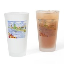 Cute Scenic Drinking Glass