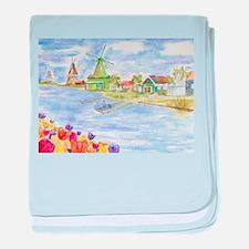 Unique Netherlands baby blanket