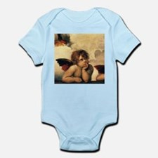 Sistine Madonna Angels by Raphael Body Suit
