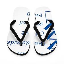 Lupus Checklist Flip Flops