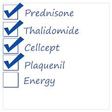 Lupus Checklist Poster