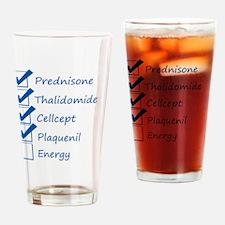 Lupus Checklist Drinking Glass