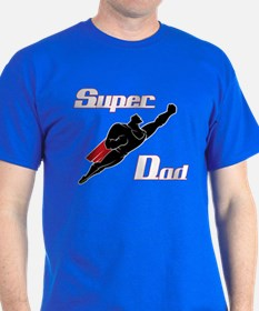 Cool Super hero dad T-Shirt