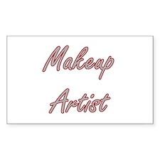 Makeup Artist Artistic Job Design Decal