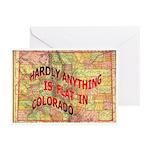 Flat Colorado Greeting Cards (Pk of 20)
