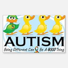Cute Autism Sticker (Rectangle 10 pk)